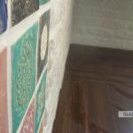 Cegiełka gipsowa, imitacja cegły, biała, dekor ręcznie wytwarzany