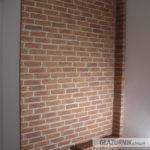 Cegiełka, płytka ręcznie formowana, naturalna cegła